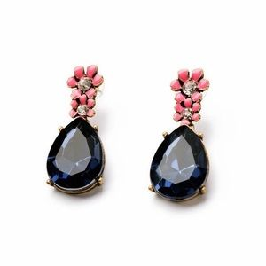 Kate Spade Blue & Gold Dangling Drop Earrings
